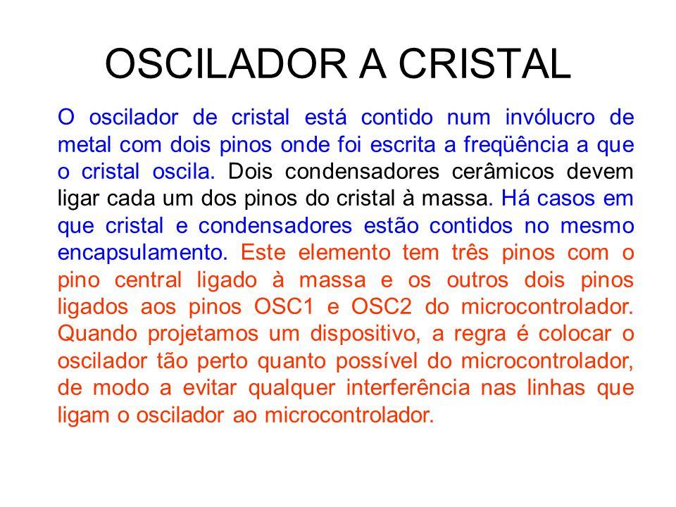 OSCILADOR A CRISTAL