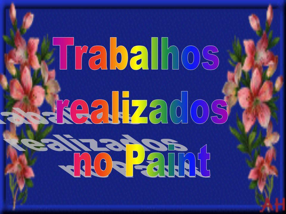 Trabalhos realizados no Paint