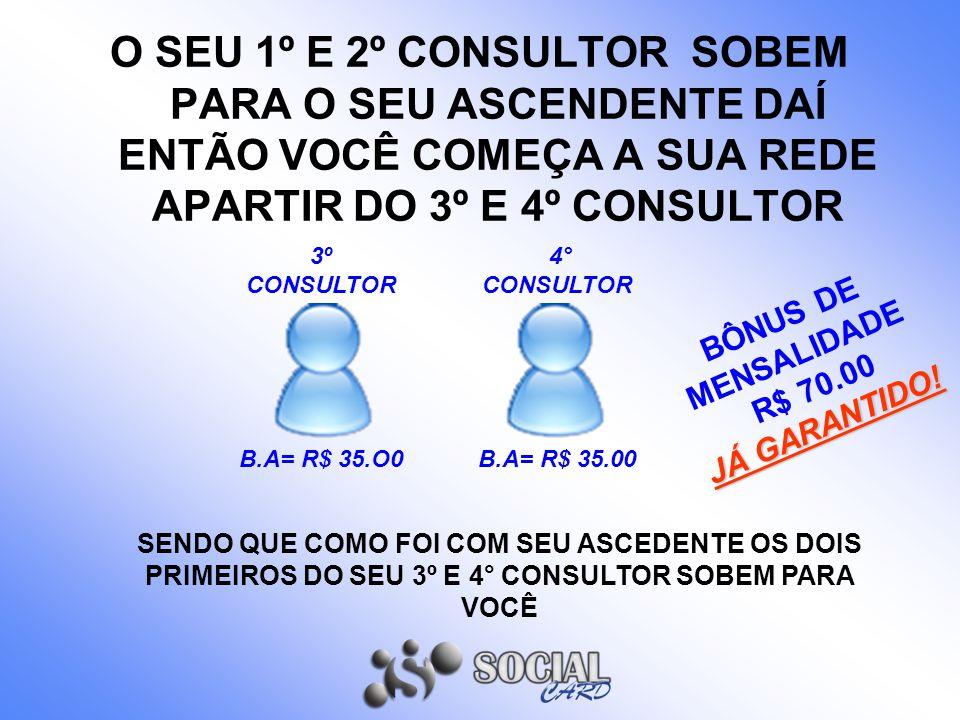 BÔNUS DE MENSALIDADE R$ 70.00 JÁ GARANTIDO!