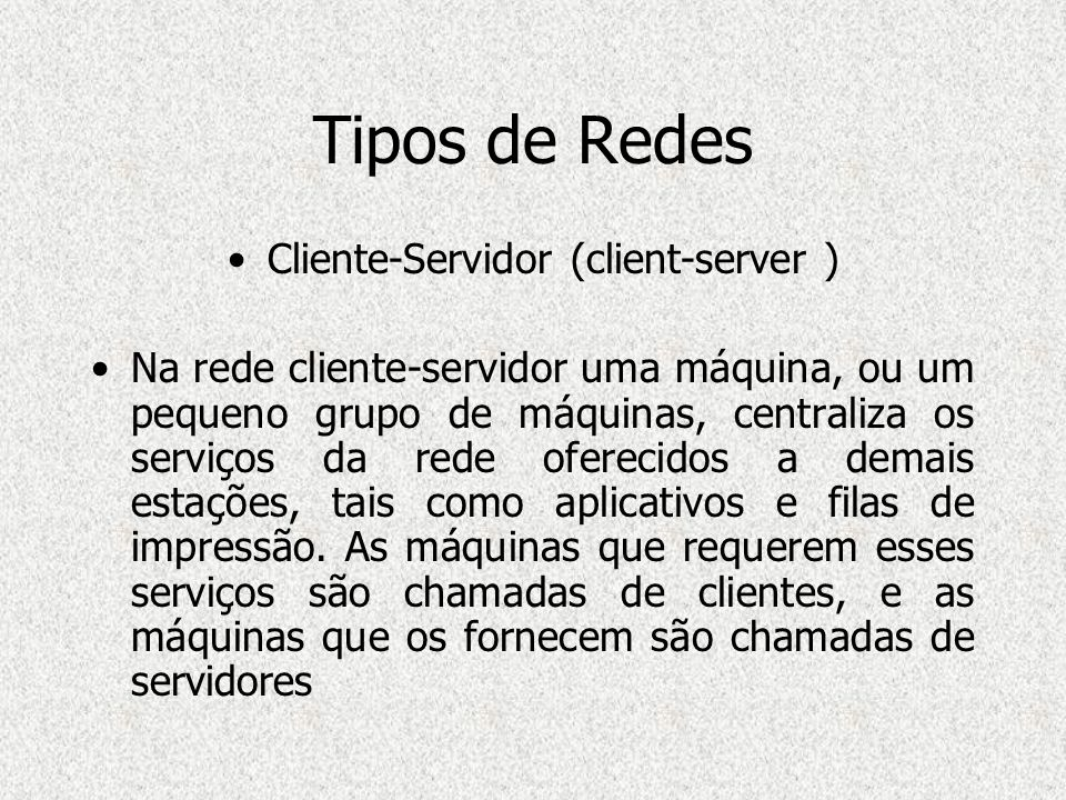 Cliente-Servidor (client-server )