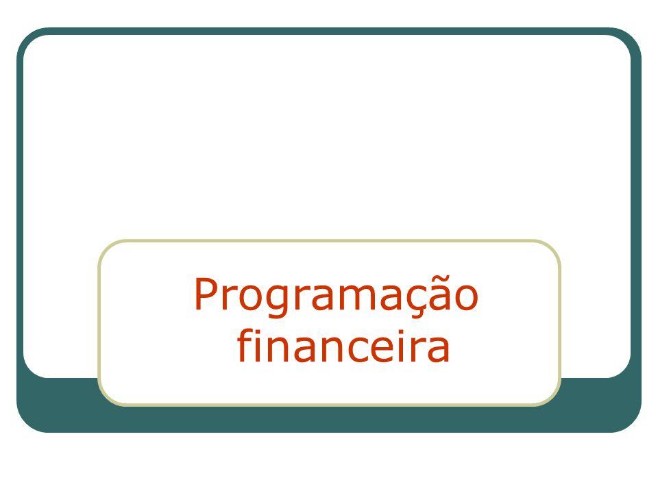 Programação financeira