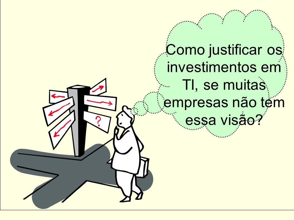 Como justificar os investimentos em TI, se muitas empresas não tem essa visão