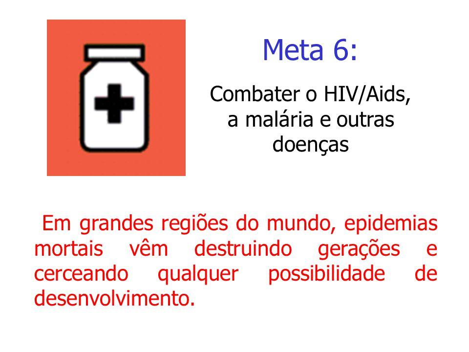 Combater o HIV/Aids, a malária e outras doenças
