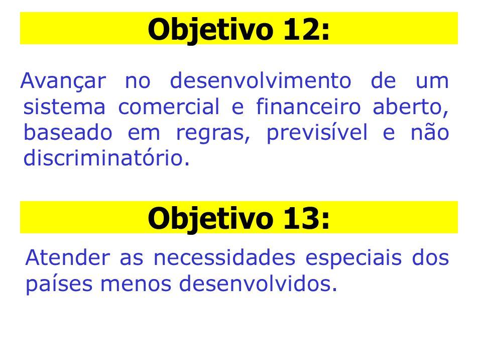 Objetivo 12: Objetivo 12: