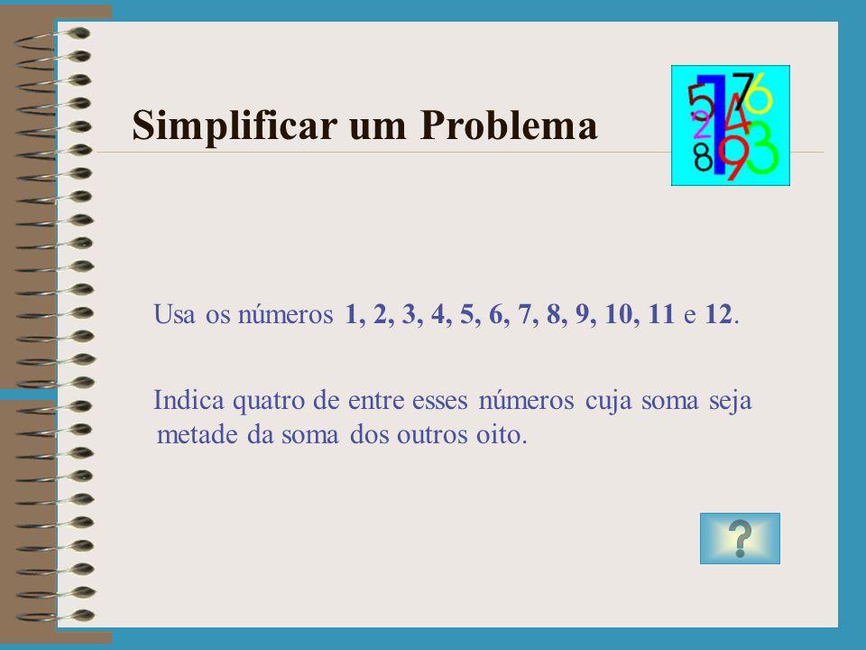 Simplificar um Problema