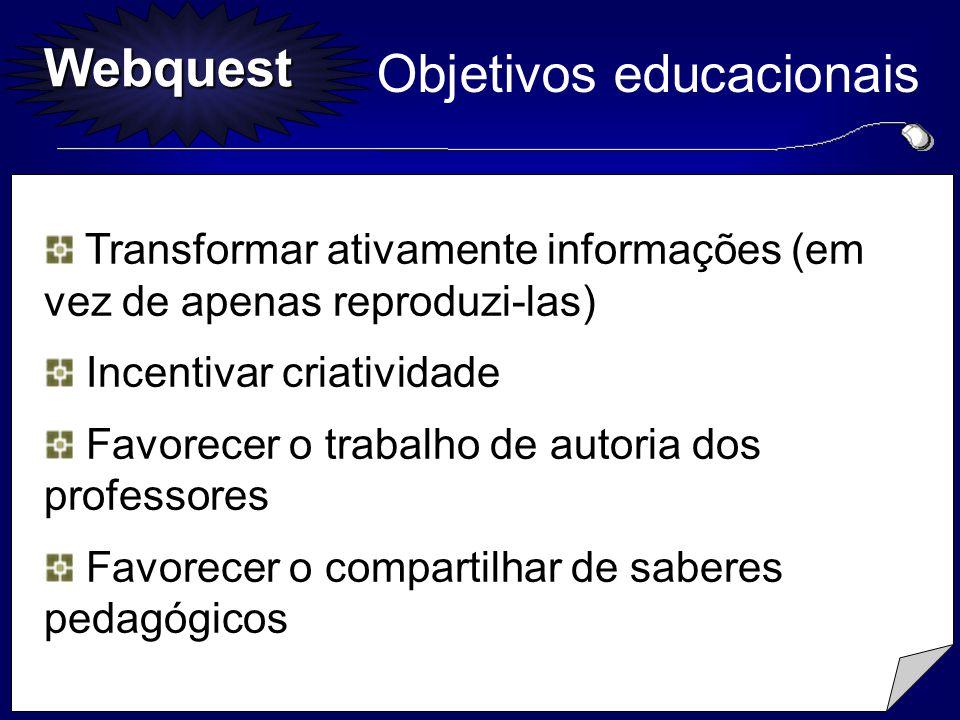 Objetivos educacionais