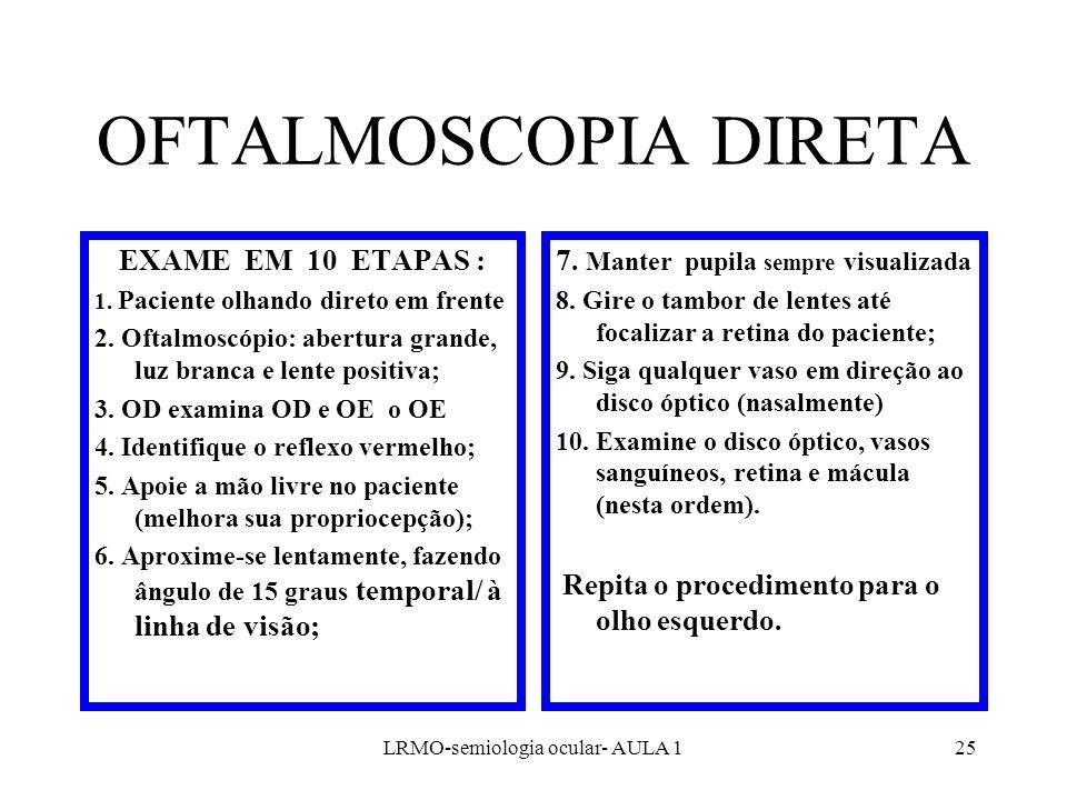LRMO-semiologia ocular- AULA 1