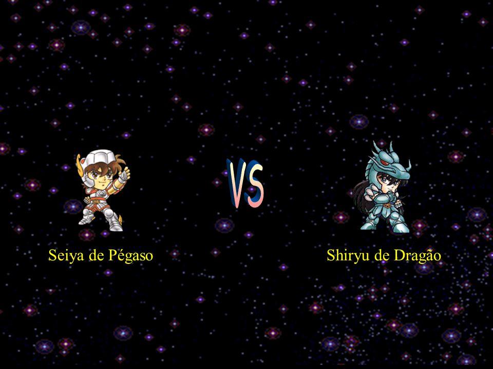 VS Seiya de Pégaso Shiryu de Dragão