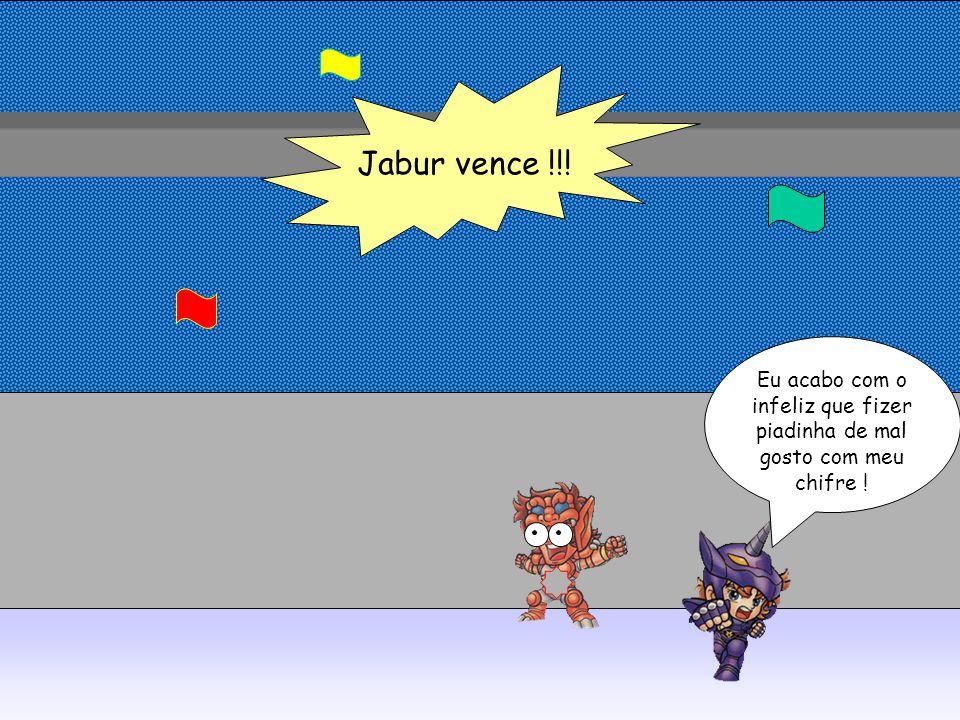 Jabur vence !!! Eu acabo com o infeliz que fizer piadinha de mal gosto com meu chifre !