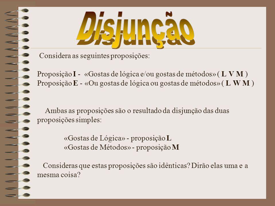 Disjunção
