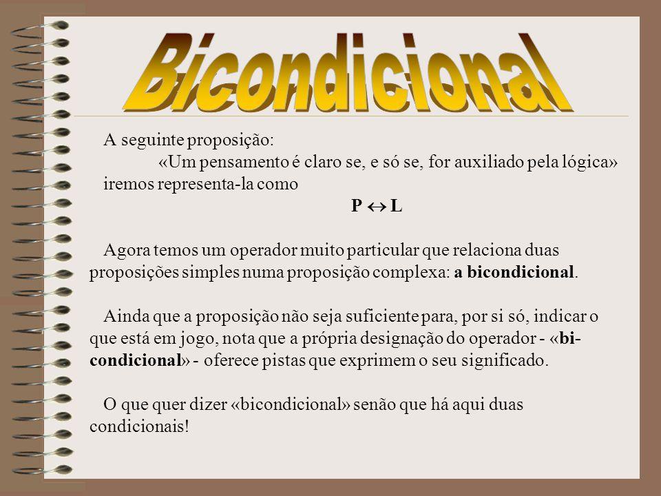 Bicondicional