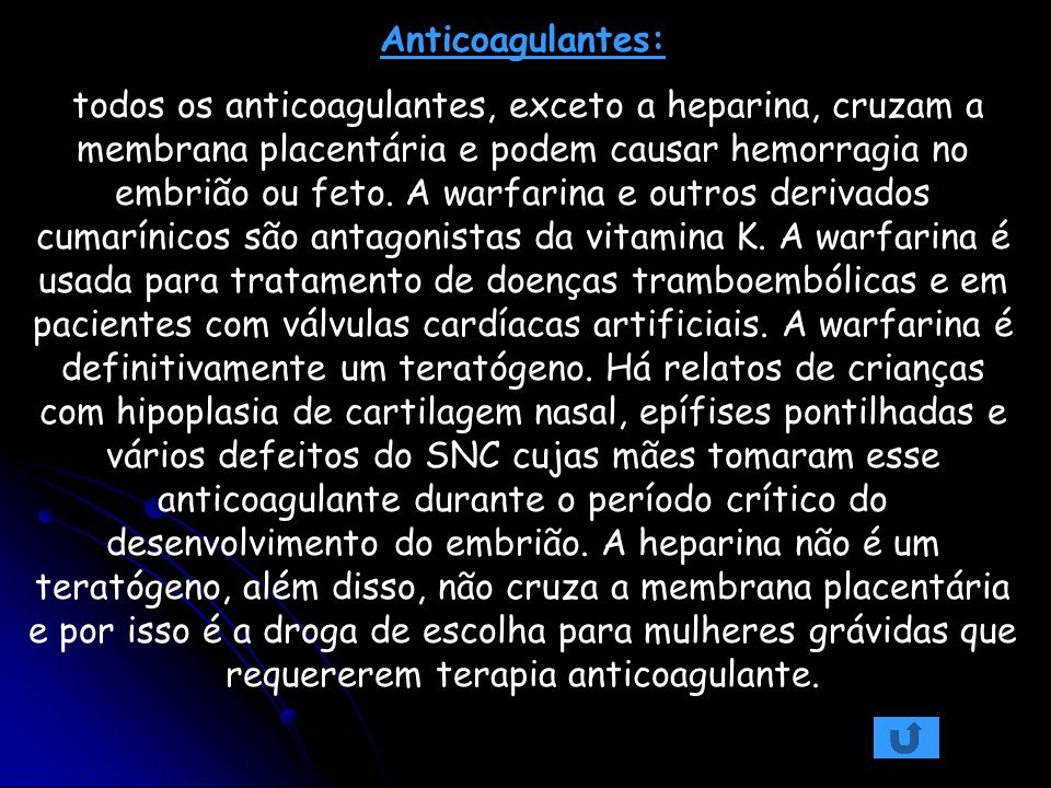 Anticoagulantes: