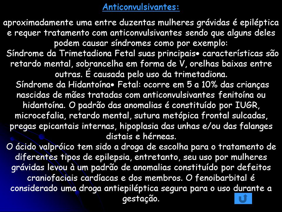Anticonvulsivantes:
