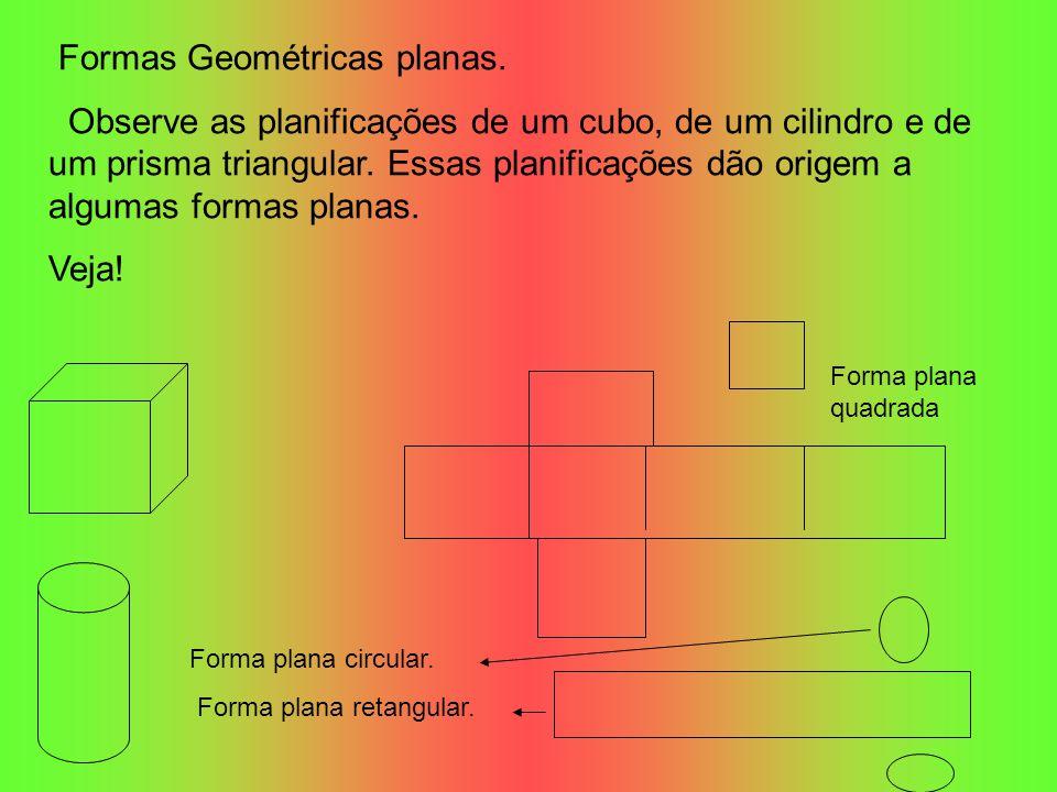 Formas Geométricas planas.