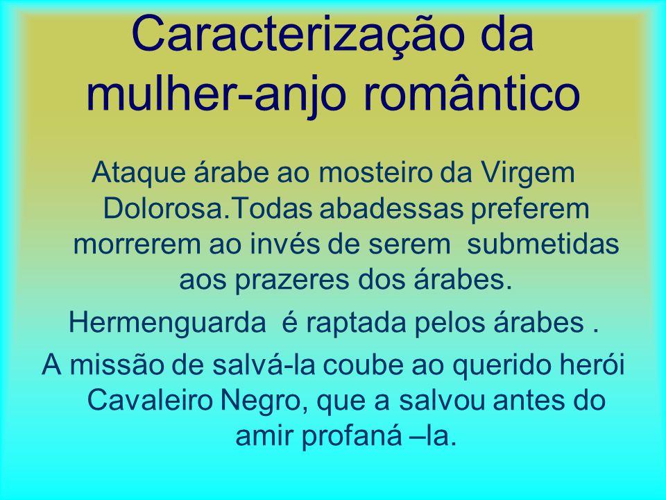 Caracterização da mulher-anjo romântico