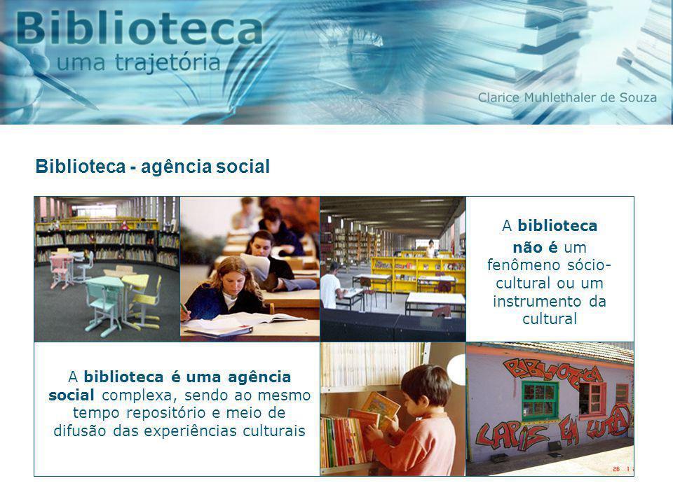 Biblioteca - agência social