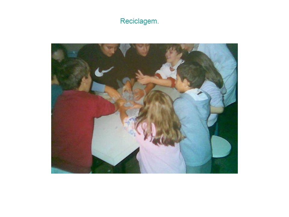 Reciclagem.