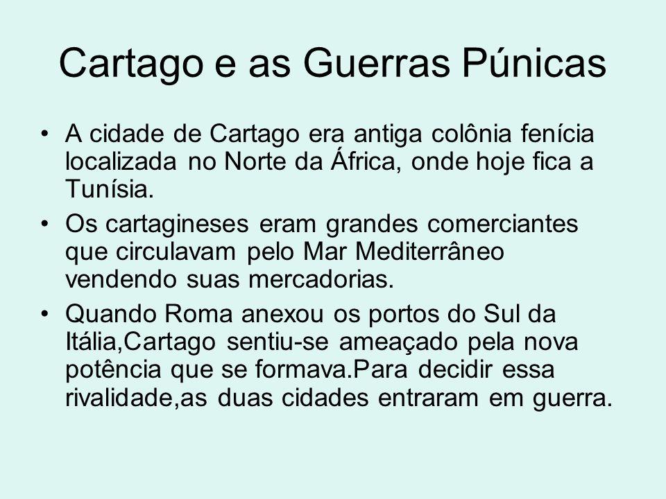 Cartago e as Guerras Púnicas