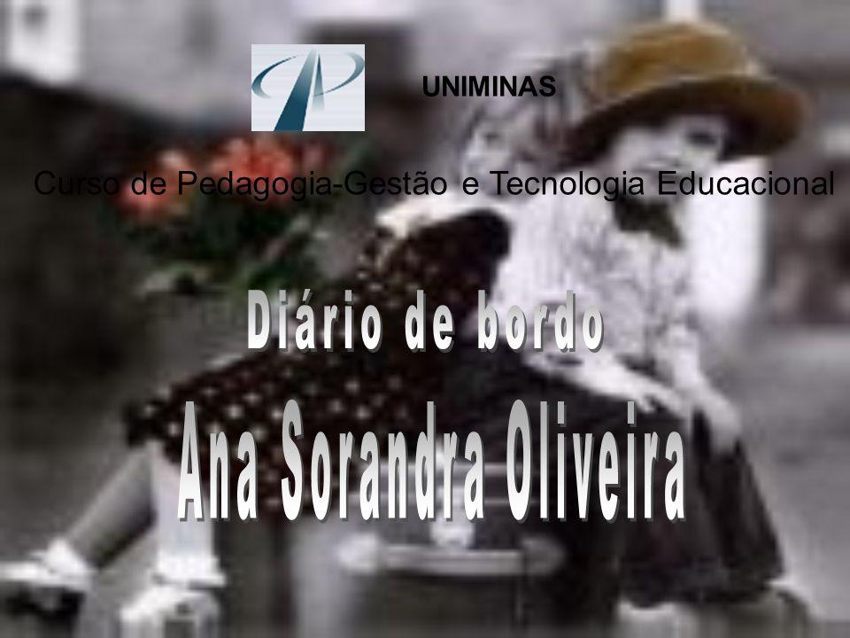 Diário de bordo Ana Sorandra Oliveira