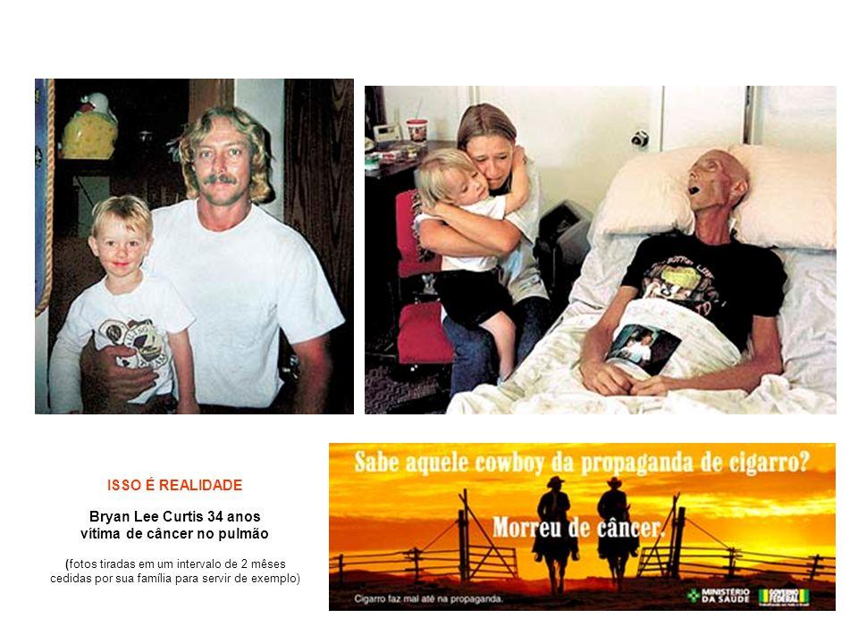 Bryan Lee Curtis 34 anos vítima de câncer no pulmão