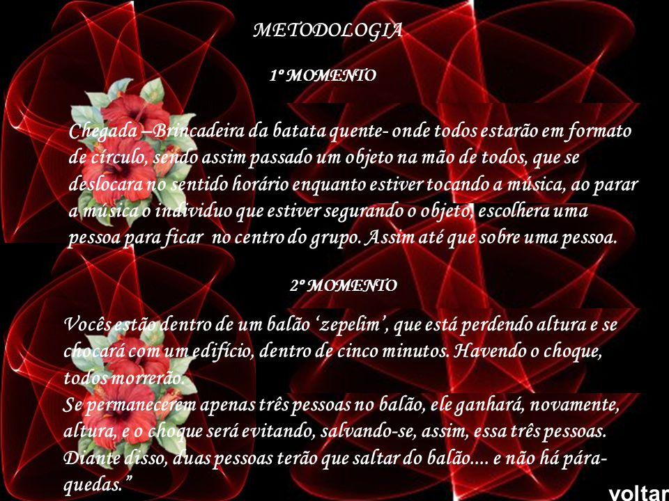 METODOLOGIA 1º MOMENTO.