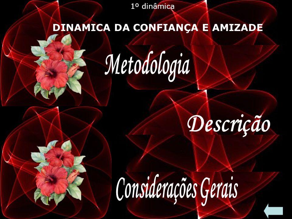 Metodologia Descrição Considerações Gerais