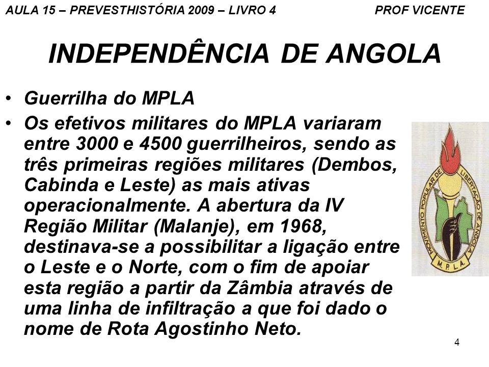 INDEPENDÊNCIA DE ANGOLA