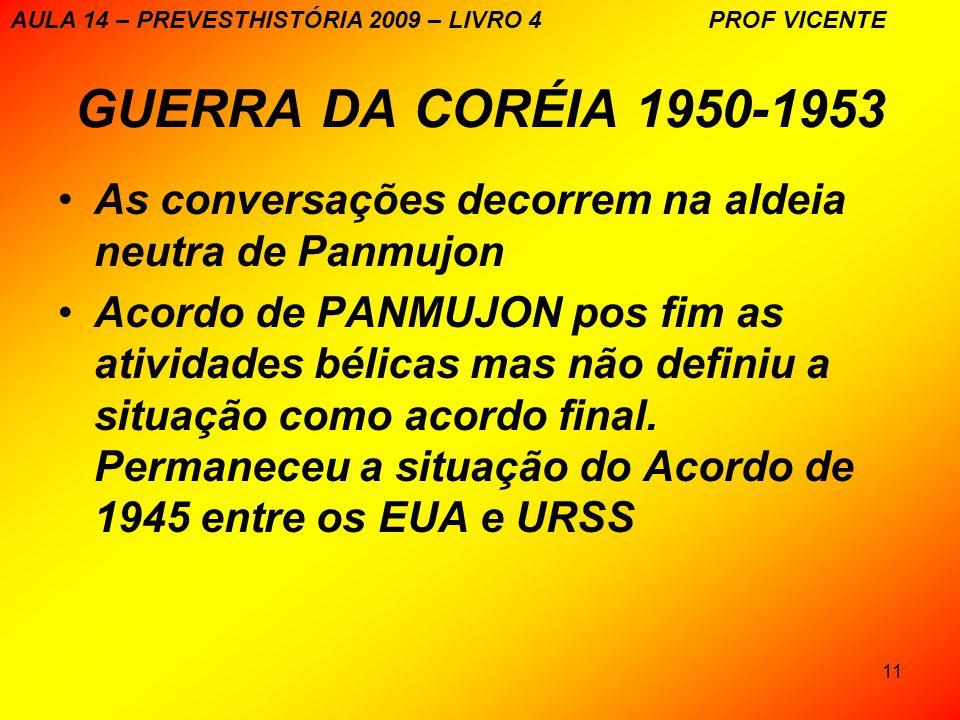 AULA 14 – PREVESTHISTÓRIA 2009 – LIVRO 4 PROF VICENTE