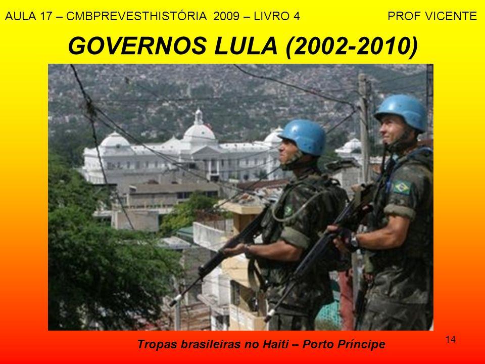 Tropas brasileiras no Haiti – Porto Príncipe