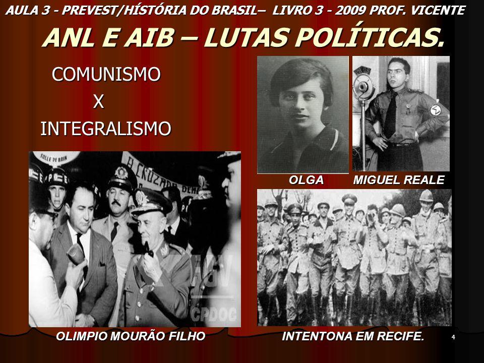 ANL E AIB – LUTAS POLÍTICAS.