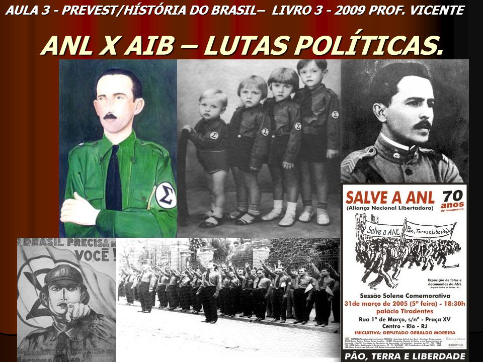 ANL X AIB – LUTAS POLÍTICAS.
