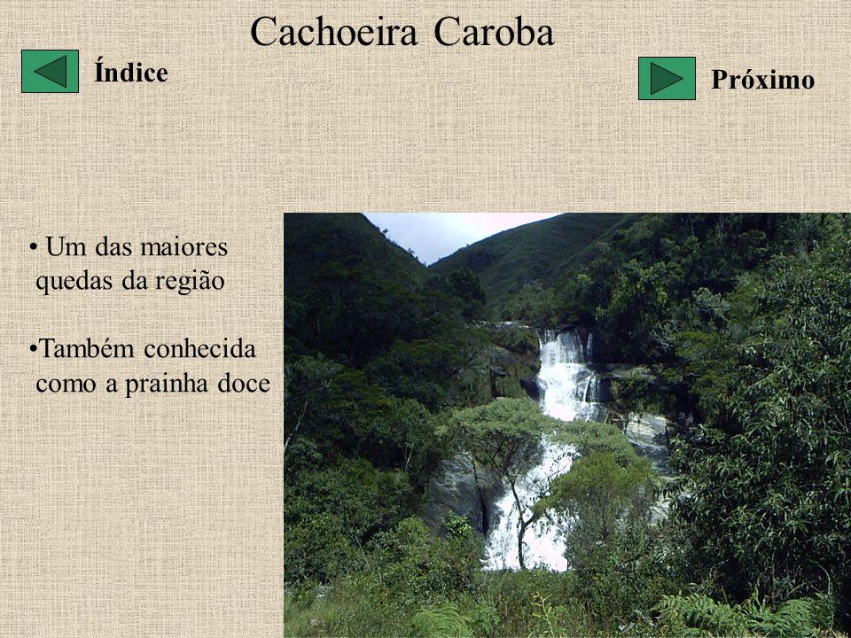 Cachoeira Caroba Índice Próximo Um das maiores quedas da região