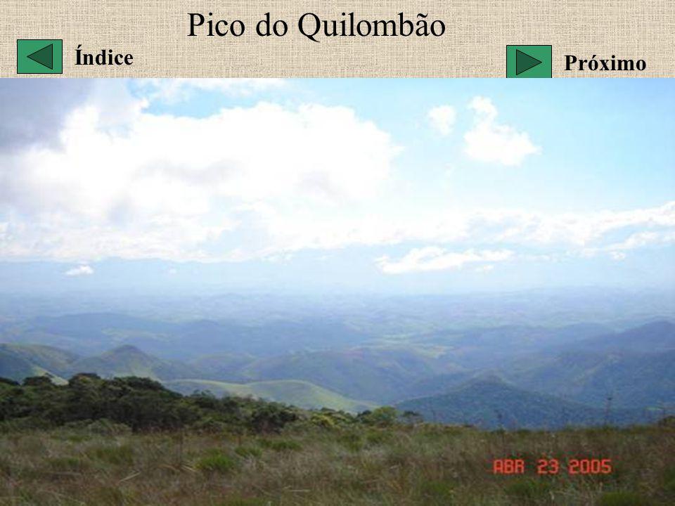 Pico do Quilombão Índice Próximo