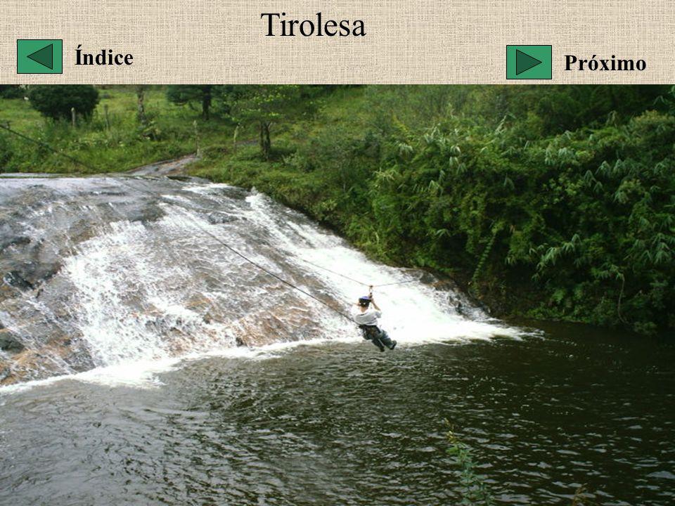 Tirolesa Índice Próximo