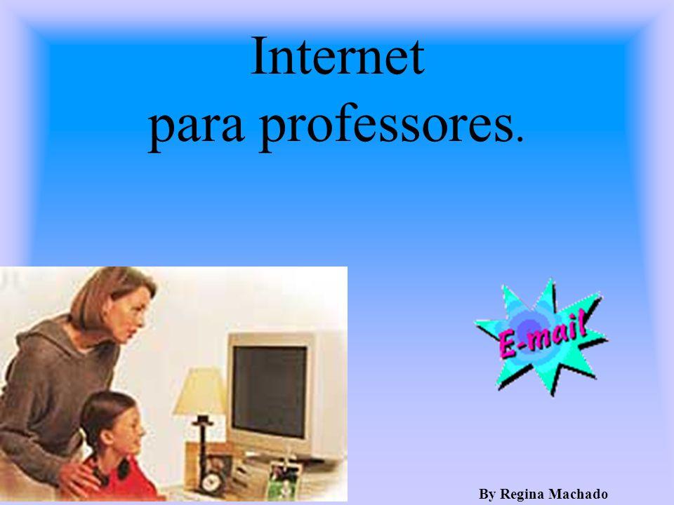 Internet para professores.
