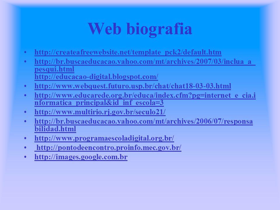 Web biografia http://createafreewebsite.net/template_pck2/default.htm