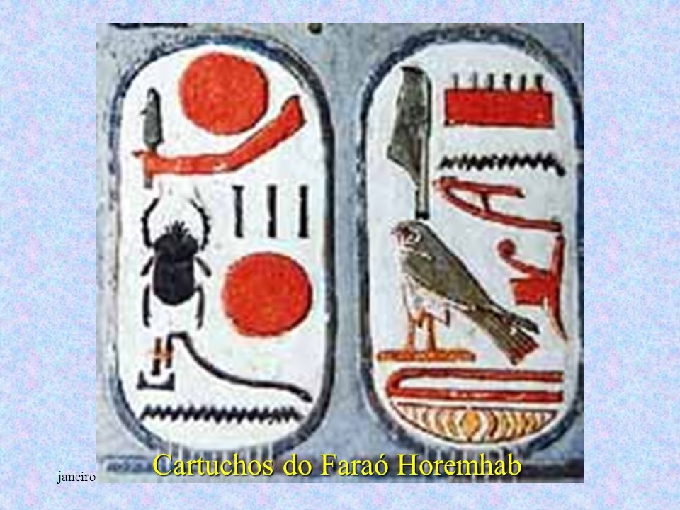 Cartuchos do Faraó Horemhab
