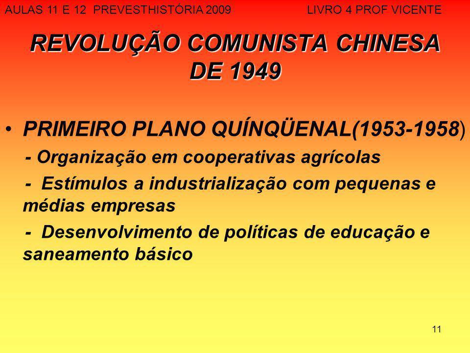 REVOLUÇÃO COMUNISTA CHINESA DE 1949