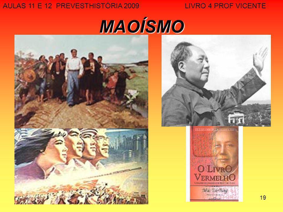 AULAS 11 E 12 PREVESTHISTÓRIA 2009 LIVRO 4 PROF VICENTE