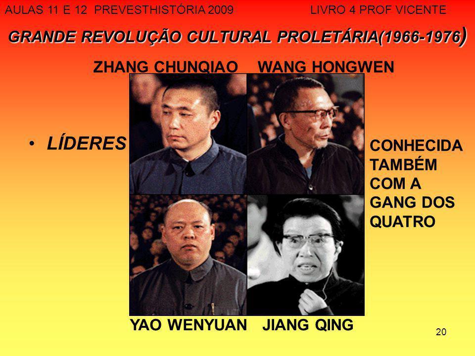 GRANDE REVOLUÇÃO CULTURAL PROLETÁRIA(1966-1976)