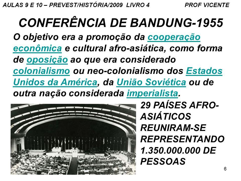 CONFERÊNCIA DE BANDUNG-1955