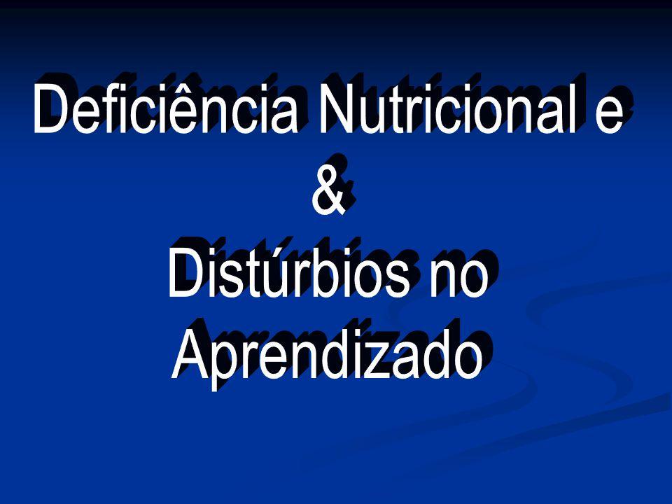 Deficiência Nutricional e