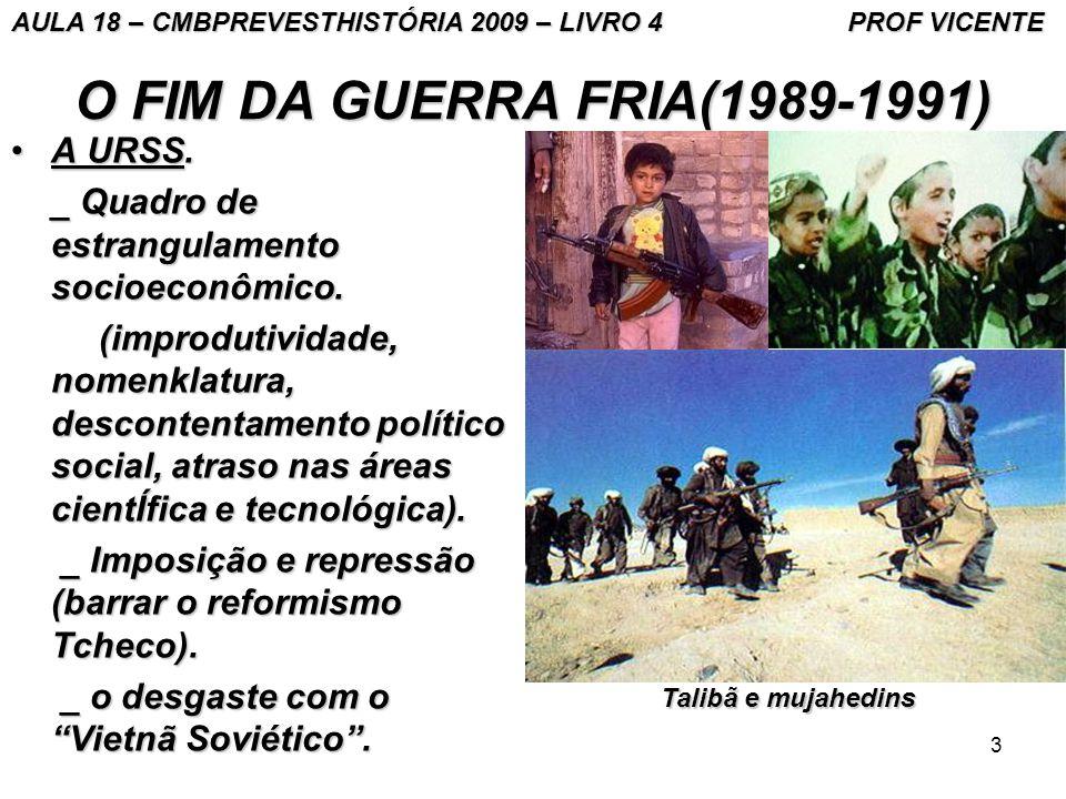 O FIM DA GUERRA FRIA(1989-1991) A URSS.