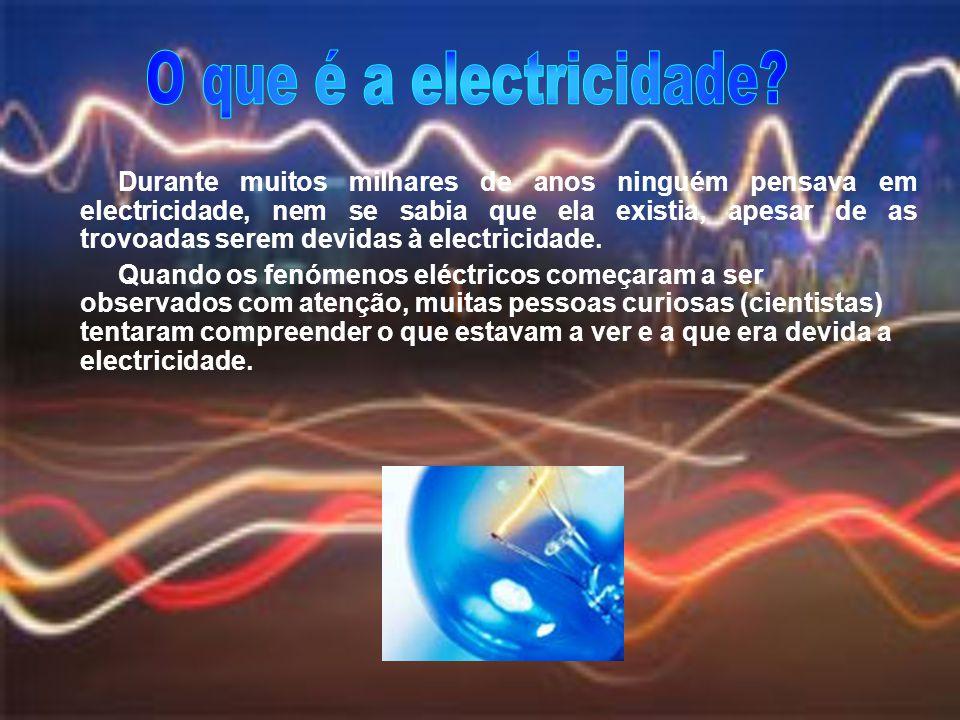 O que é a electricidade