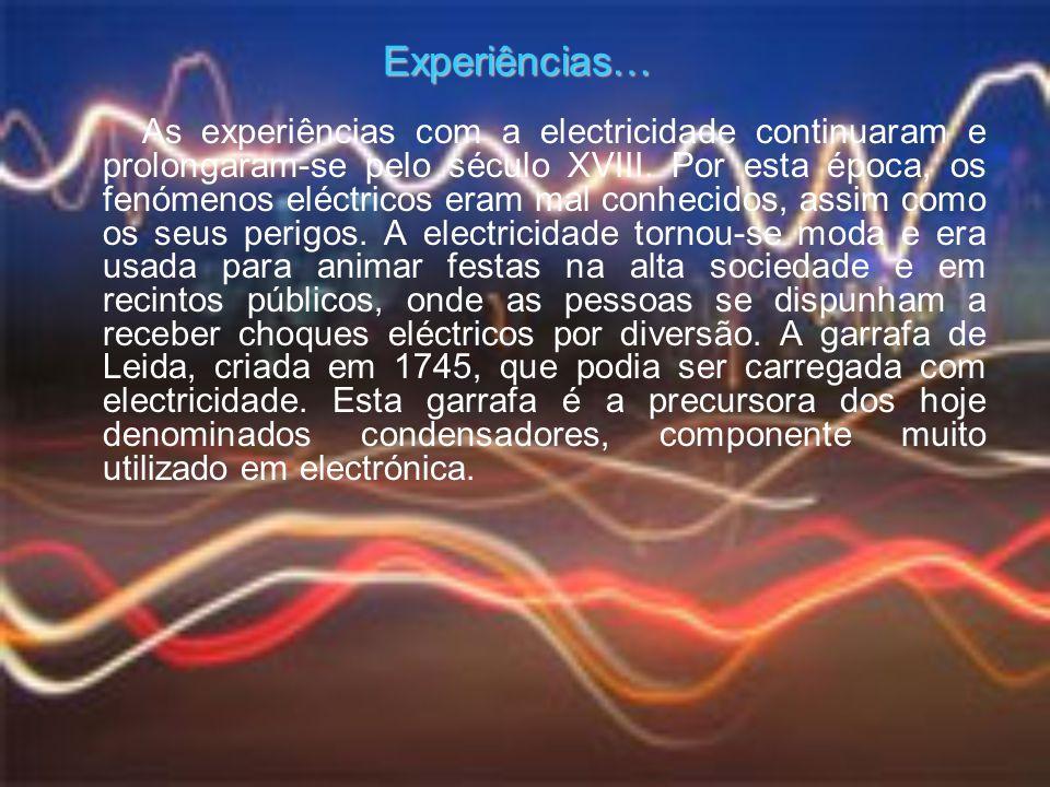 Experiências…