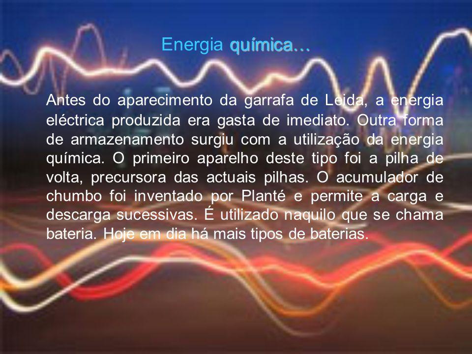 Energia química…