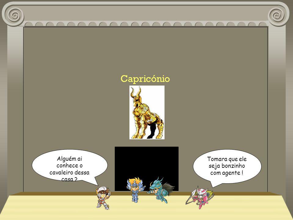 Capricónio Alguém ai conhece o cavaleiro dessa casa