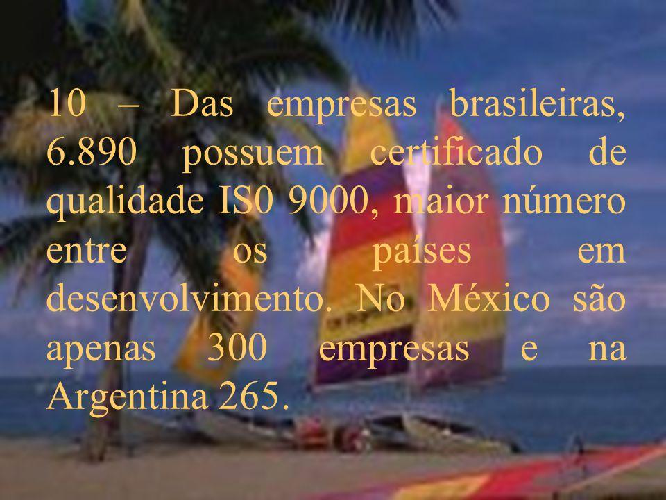 10 – Das empresas brasileiras, 6
