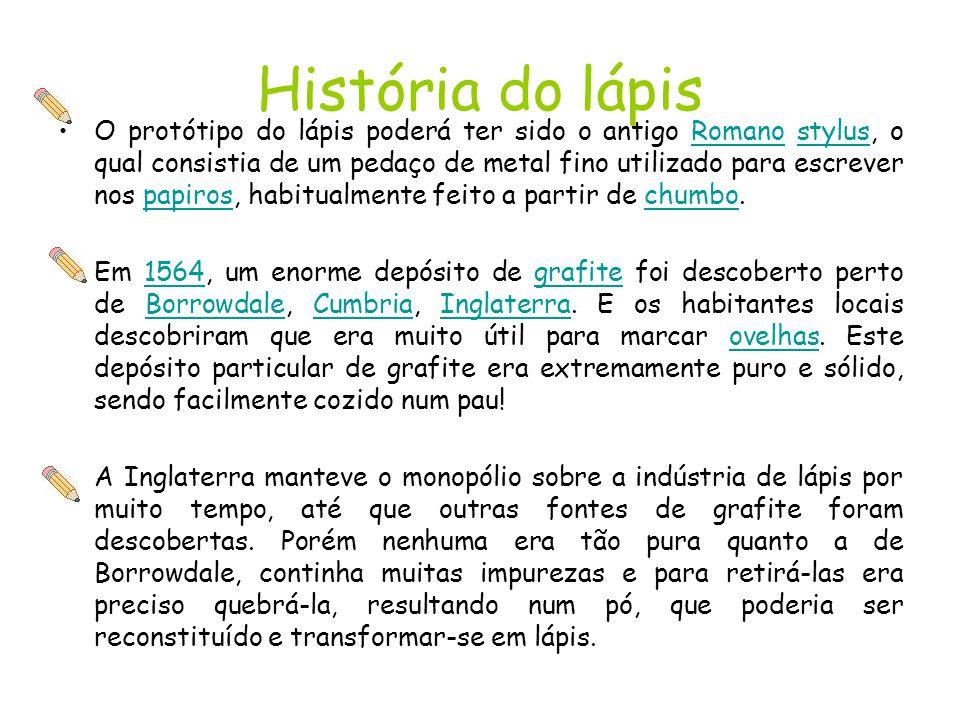 História do lápis