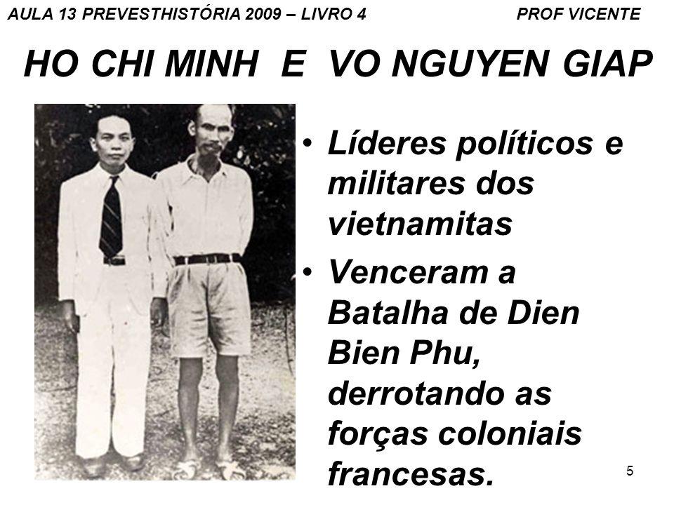 HO CHI MINH E VO NGUYEN GIAP